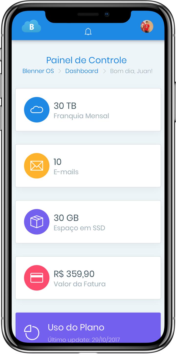 Blenner Dashboard Mobile